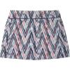 Smartwool Women's Merino Sport Lined Skirt - XS - Canyon Rose Zig Zag Print