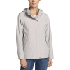 Eddie Bauer Women's Rainfoil Odessa Jacket - XL - Light Gray