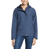 Eddie Bauer Women's Rainfoil Odessa Jacket - Large - Dusted Indigo
