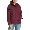 Eddie Bauer Women's Rainfoil Odessa Jacket - Small - Dark Berry