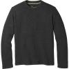 Smartwool Men's Hudson Trail Fleece Crew Sweater - XXL - Dark Charcoal