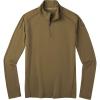 Smartwool Men's Merino 150 Baselayer 1/4 Zip Top - XXL - Military Olive