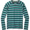 Smartwool Men's Merino 150 Baselayer LS Top - XXL - Pacific Stripe
