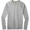 Smartwool Men's Merino 150 Baselayer LS Top - XXL - Light Grey Heather