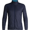 Icebreaker Men's Hyperia Lite Hybrid Jacket - Large - Midnight Navy / Alpine