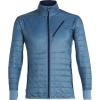 Icebreaker Men's Helix LS Zip Jacket - XXL - Granite Blue / Midnight Navy