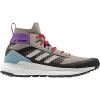 Adidas Women's Terrex Free Hiker Boot - 8.5 - Light Brown / Simple Brown / Ash Grey