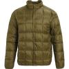 Burton Men's Evergreen Down Snap Insulator Jacket - Small - Martini Olive