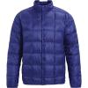 Burton Men's Evergreen Down Snap Insulator Jacket - Small - Royal Blue