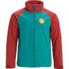 Burton Men's Brento Jacket - Small - Tandori / Green / Blue Slate