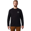 Mountain Hardwear Men's MHW Treasure Chest LS Tee - Large - Black