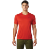 Mountain Hardwear Men's Wicked Tech SS Tee - Medium - Desert Red