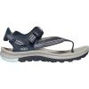 Keen Women's Terradora II Toe Post Sandal - 5.5 - Navy / Light Blue