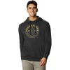 Mountain Hardwear Men's Geo Marker Pullover Hoody - Small - Heather Black