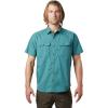 Mountain Hardwear Men's J Tree SS Shirt - XXL - Washed Turq