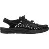 Keen Women's Uneek Sandal - 5 - Black / Black