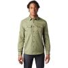 Mountain Hardwear Men's Canyon LS Shirt - Small - Dark Army