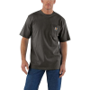 Carhartt Men's Workwear Pocket SS T Shirt - XXL Regular - Peat