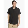 Quiksilver Men's Tech Tides Shirt - Medium - Black