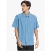 Quiksilver Men's Cane Island Shirt - Small - Celestial Cane Island