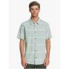 Quiksilver Men's Kalua Kobi Shirt - Large - Chinois Green Kalua Kobi