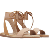 Sorel Women's Ella Ankle Lace Sandal - 10.5 - Honest Beige