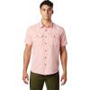 Mountain Hardwear Men's Canyon SS Shirt - XL - Desert Red