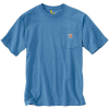 Carhartt Men's Workwear Pocket SS T Shirt - Medium Regular - French Blue
