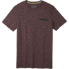Smartwool Men's Everyday Exploration Pocket Tee - XXL - Woodsmoke Heather
