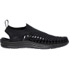 Keen Men's Uneek Evo Sandal - 7 - Black / Black