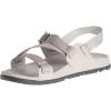 Chaco Women's Lowdown Sandal - 8 - Light Grey