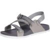 Chaco Women's Lowdown Sandal - 8 - Pully Grey