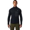 Mountain Hardwear Men's Cragger2 LS 12 Zip Top - XL - Dark Storm