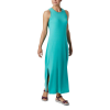 Columbia Women's Slack Water Knit Maxi Dress - Small - Dolphin