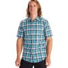 Marmot Men's Syrocco SS Shirt - Small - Enamel Blue