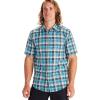 Marmot Men's Syrocco SS Shirt - Large - Enamel Blue