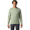 Mountain Hardwear Men's Hotel Basecamp LS Tee - XL - Field