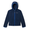 Columbia Youth Fast Trek II Fleece Hoodie - Medium - Collegiate Navy