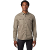 Mountain Hardwear Men's J Tree LS Shirt - Medium - Dunes