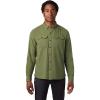 Mountain Hardwear Men's Crystal Valley LS Shirt - XXL - Field