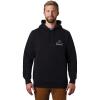 Mountain Hardwear Men's Hotel Basecamp Pullover Hoody - Medium - Black