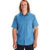 Marmot Men's Aerobora SS Shirt - XXL - Varsity Blue