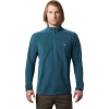 Mountain Hardwear Men's Macrochill 1/2 Zip Pullover - XXL - Icelandic