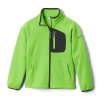 Columbia Youth Fast Trek II Fleece Full Zip Jacket - Large - Green Mamba / Shark