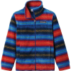 Columbia Youth Boys' Zing III Fleece Jacket - Medium - Bright Gold Bubble Stripes