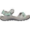 Keen Women's Terradora II Open Toe Sandal - 11 - Light Grey / Ocean Wave