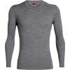 Icebreaker Men's 260 Tech LS Crewe Top - Small - Gritstone Heather