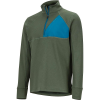 Marmot Men's Hanging Rock 1/2 Zip Top - Small - Crocodile / Moroccan Blue