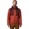 Mountain Hardwear Men's Bridgehaven Jacket - XXL - Rusted