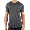 Icebreaker Men's Sphere SS Crewe - Small - Black Heather